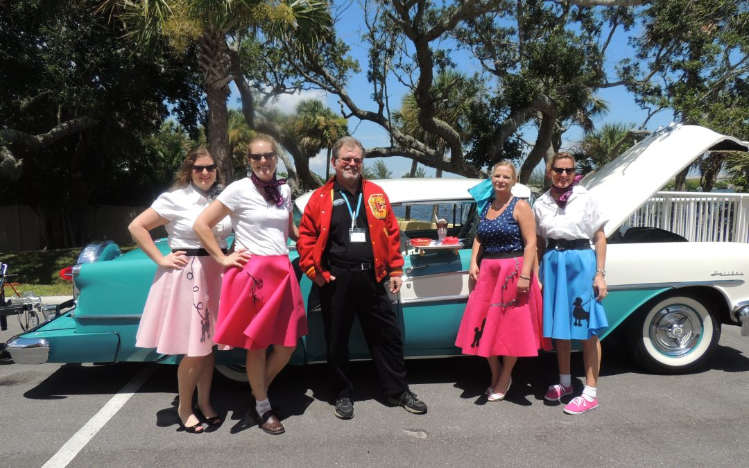 Our Sock Hop Celebrates the 50's at Victoria Landing